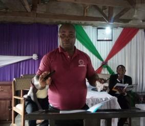 Bassey Esang at the Preachers Retreat 3